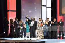 onstage at the 48th NAACP Image Awards at Pasadena Civic Auditorium on February 11, 2017 in Pasadena, California.