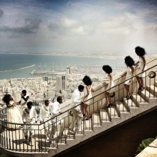 Assignment for Time Magazine. 'A Kind of Purgatory': African Refugees in Israel. Eritrean Wedding in Haifa, Israel.