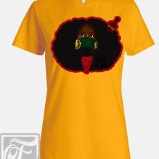 focsi-womens-gold-justice-natural-hair-art-afro-pick-t-shirt